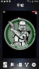 Star Wars Card Trader Arc Trooper Green Badge.