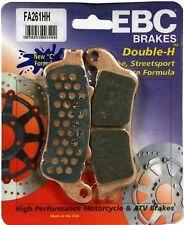 EBC Sintered HH Front Brake Pads  2002-2010 Honda FSC600 Silver Wing / FA261HH