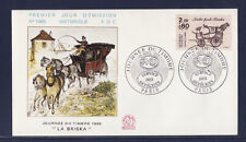 enveloppe 1er jour   journée du timbre     Paris       1986