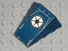 LEGO NavyBlue wedge ref 47753 + Stickers /set 7256 & 7283