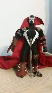 custom 9 inch SPAWN famous covers mego action figure IMAGE COMICS