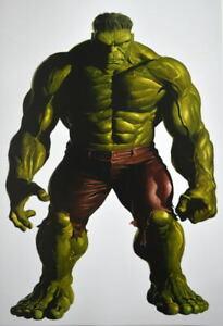INCREDIBLE HULK Poster Alex Ross Art Marvel Avengers