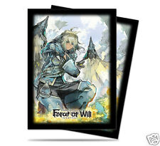 """2 packs (130) FORCE OF WILL """"ARLA"""" Ultra Pro Deck Protectors Art Card Sleeves"""