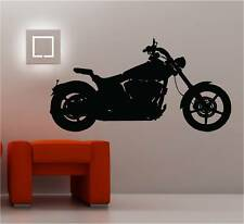 HUGE MOTORBIKE CYCLE wall art sticker  DECAL VINYL