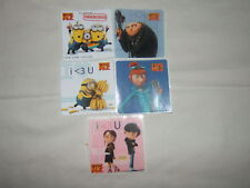 5-Despicable Me 2   Stickers Party Favors