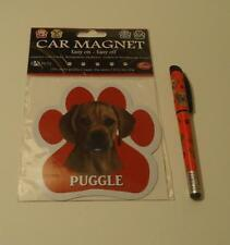 Puggle Mixed Breed Dog Refillable Gel Pen & Car Magnet Dp-122
