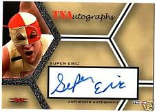 TNA Super Eric Young 2008 Impact Authentic Autograph Signed Card WWE