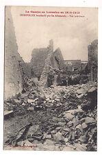 hudiviller bombardé par les allemands , vue intérieure
