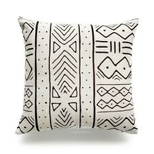 Hofdeco Decorative Cushion Cover Heavy Weight Cotton Linen African Mud Cloth X