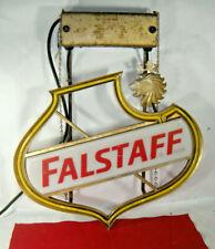 New listing Vintage 1950s Falstaff beer Neon light up bar sign game room man cave