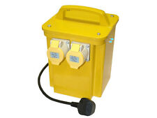 NEW! 3.3KVA Site Transformer 110V Twin Outlet 16 AMP KVA 3.3