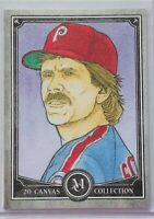 MIKE SCHMIDT 2020 TOPPS MUSEUM CANVAS COLLECTION CARD PHILADELPHIA PHILLIES MLB