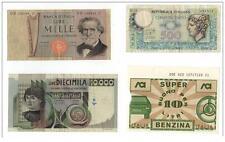 4 billets d´ italie à saisir