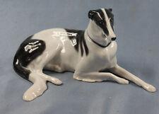 barsoi greyhound windhund Pfeffer gotha figur hund porzellan figur 1900 l