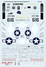 MICROSCALE DECALS 1//48 North-American P-51D//P-51K Mustangs #ss481203