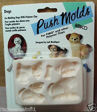 AMACO - Dog with Pups Push Mold by Designer Judi Maddigan-Rare & OOP