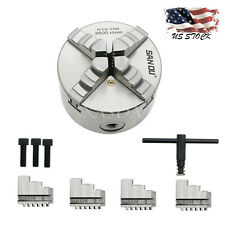 K12-100 4 inch 4-Jaw Self Centering Lathe Chuck for Cnc Drilling Milling Machine