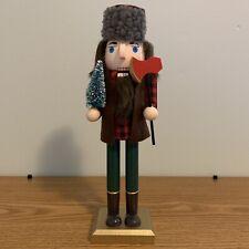 After Christmas Dollar Sale! Last One! Lumberjack Lumber Jack Nutcracker 10.5�
