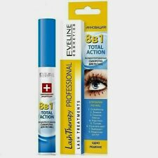 Serum for eyelashes 8 in1 Eveline Total Action concentrated 10 ml