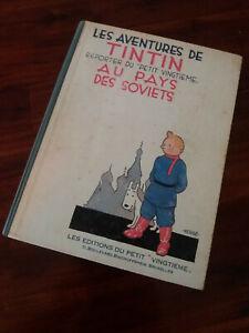 TINTIN au Pays des Soviets-E.O du Fac Similé 1981 de l'édition de 1930