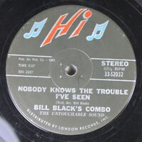 50'S & 60'S 45 Bill Black'S Combo - Nobody Knows The Trouble I'Ve Seen / When Th