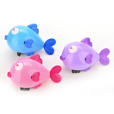 11CM Wind-Up Clockwork Bath Toys Animals Kiss Fish Baby Shower Swimming KidjgG