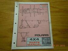 POLARIS 1990 4 X4 ATV PARTS MANUAL X908127