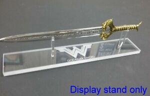 acrylic display stand for Wonder Woman mini scaled God Killer sword Factory Ent