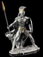 Zinn Figur Leonidas Held von Sparta - Statue Veronese Ritter Krieger