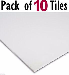 Suspended Vinyl Ceiling Tiles Wipeable EasyClean 595x595 600x600 Waterproof 10x