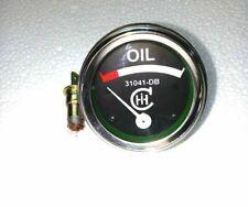IH Farmall Oil Pressure Gauge IHOI03 With Chrome Bezel