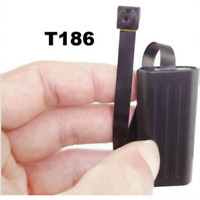 T186 Button Spy Video Camera Dvr Full Hd 1080p 17 Hour Battery Motion Remote MP