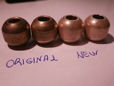 NEW SINTERED (HEAT PRESSED) BRONZE BUSHINGS GARRARD 301 MOTOR TURNTABLE  2PCS