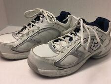 White Converse safety composite toe work tennis shoe C4440 Men 5.5W/ C440 7.5W