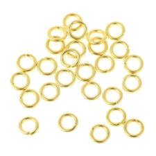 100 Anneaux de jonction Ouvert Doré 5mm Creation bijoux
