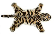 Tiger Rug Nonslip Area Wool Rug For Kid Play Wall hanging Guest Room Decor 3x5ft