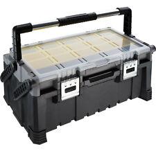 Werkzeugkasten leer Werkzeugkoffer Werkzeugkiste Werkzeugbox tragbar mit Griff