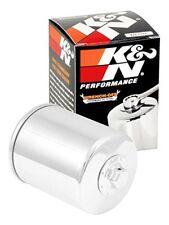Motores y recambios del motor K&N color principal cromo para motos Harley Davidson