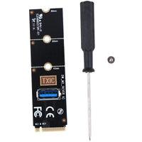Adaptador tarjeta transferencia NGFF M.2 a USB 3.0 para PCI-E Tarjeta vertical