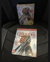 Sid Meier's Civilization III: Play the World (PC, 2002) With Guide