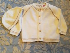 Fao Baby Tan Sweater and Hat / Fao one piece