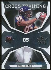 2008 Leaf Rookies and Stars Crosstraining Earl Bennett #11 Chicago Bears /1000