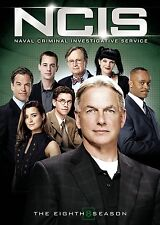 NCIS SEASON 8 DVD - THE COMPLETE EIGHTH SEASON [6 DISCS] - NEW UNOPENED