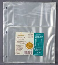 Hallmark Choose-Your-Own Album 3 Pocket Page Refill 3-Ring AR1039 NIP 12 Pages