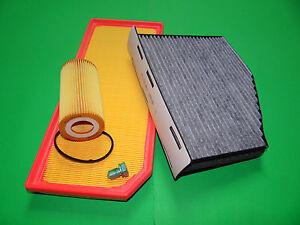 Ölfilter Luftfilter Pollenfilter Skoda Octavia RS 2.0 FSI (147kW/200PS)