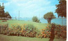 PORT HURON,MICHIGAN-SCENE IN PINE GROVE PARK-BLUE WATER BRIDGE-(1952)-(MICH-P)