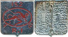 152° Régiment d'Infanterie, écu, Delsart 477 (5624)