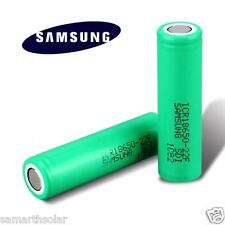Original Samsung 18650 Battery 2200mah 3.7v Rechargeable Lithium Cell Li Ion 1pc