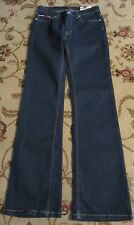TOMMY HILFIGER HIPSTER FLARE DARK BLUE JEANS SIZE 5 NWT