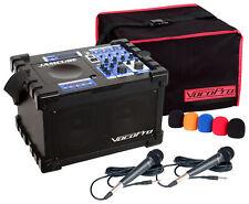 Vocopro JamCube MC 100W Mini CD/CDG USB PA Karaoke Machine System+(2) Mics+Cover